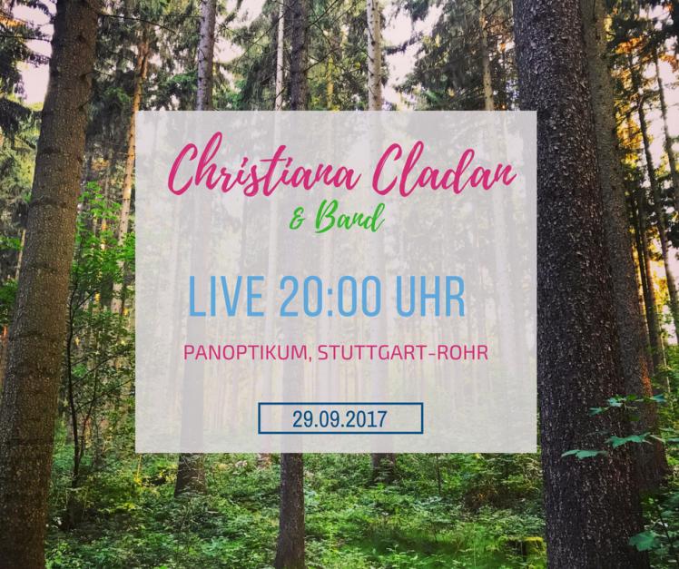 Friday, 21.07.2017Live at Panoptikum, Stuttgart-Rohr, 20 Uhr